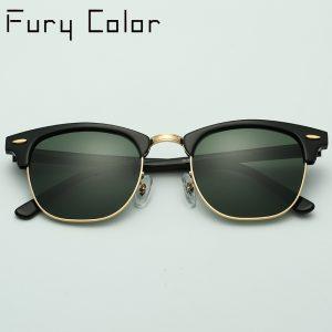 7cf4634339c12 Real G15 Glass lens club 3016 UV400 men women Sunglasses hot rays retro Sun  glasses master Shades Oculus gafas De Sol Masculino
